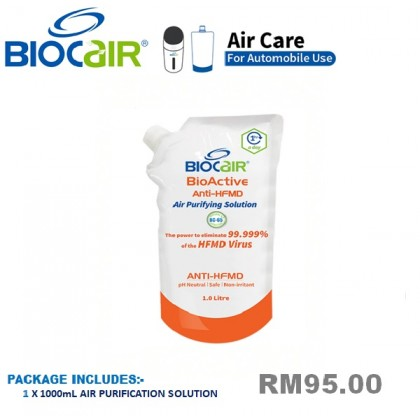 BIOCAIR BIOACTIVE ANTI-HFMD SOLUTION (1 LITRE)
