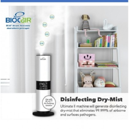 BioCair BC-65 Ultimate II 5.5L Dry-Mist Disinfection Machine